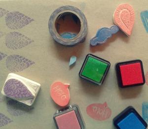 tintas de colores